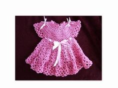 Follow along, to finish up this darling little girls dress...  Purchase the pattern here, it contains all sizes from newborn to age 4: https://www.etsy.com/listing/126905362/crochet-pattern-baby-dress-girls-dress  LEARN TO CROCHET:  http://www.youtube.com/watch?v=mSzqZ3KrR5I=PL166DA68A2E700BDB=158=plpp_video CROCHET PROJECTS ...