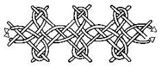 interlacing stitch
