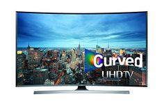 Samsung UN65JU7500 Curved 65-Inch 4K Ultra HD 3D Smart LED TV. Rating 4.4/5 stars, 258 customer reviews