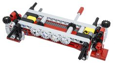 The  LEGO Technic 42043 Mercedes-Benz Arocs 3245uses two brand new pieces to make a smaller and simpler outrigger system for trucks (Design IDs 18940 and 18942). In another post, I showed themanual outrigger stabilizers. This time, we will see how the outriggers can be extended with the power of a motor.You can see the outrigger system in the pictures above and below, composed of two identical units connected together. A layer of gears are laid on top of the o...
