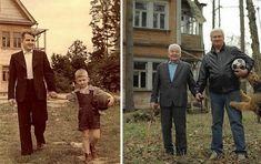 【家族と一緒に!過去の自分で】昔に撮った古いを写真を「今」再現してみた12枚   COROBUZZ