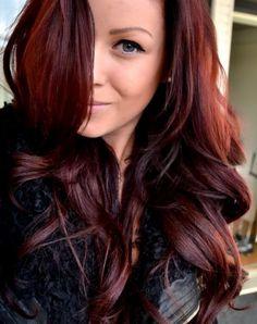 Cabelo vermelho escuro - Sépha Blog