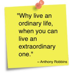 Anthony Robbins Quote **Watch Tony Robbins Live**