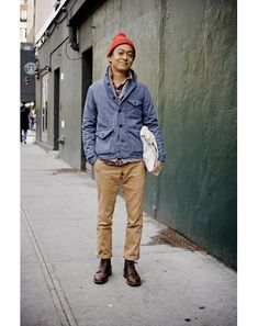 @Louie Abellera in 20 years. New York Street Style Photos by Ben Ferrari