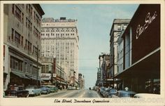 Downtown Greensboro North Carolina, sometime in the 1950s. It was a great place to grow up.