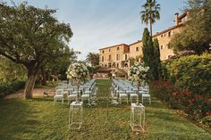 Weddings don't get much more romantic than at Belmond La Residencia in the gorgeous Mallorcan village of Deià.