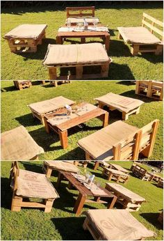 Garden furniture benches and table are another one of the finest options of creations which you can place in your house garden beauty aspects. This image will make you show out the perfect option that is all the more beautifully designed by using wood pallet. It is much a wonderful creation that is artistic included with rustic wood pallet within it.