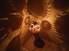 100% HANDMADE Gourd lamp footed chandelier mother's by JUNIORCITY