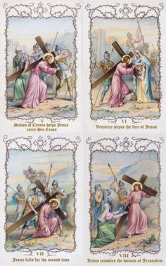 The Stations of the Cross, 5 - 8