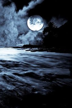 Darkness moon