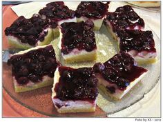 Kirsch-Creme-Blechkuchen für Schleckermäulchen #backen #sonntagssuess #obst