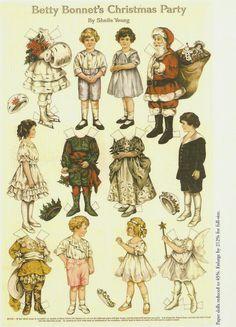 Miss Missy Paper Dolls: Betty Bonnets