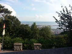 Trieste (Italy), view from Opicina