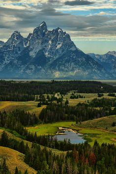Grand Teton National Park by Jeff Clow Travel wishlist.
