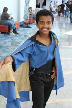 #COSPLAY #29DaysOfBlackCosplay  Little Lando @IndasCorner