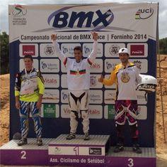 Campeonato Nacional de BMX Race - Carlos Rosado revalida o título