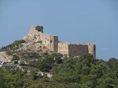 The castle of Kritinia (Kastello, for the locals), is a Venetian castle built in the century on a hill about 131 metres above the village of Kritinia. Byzantine, 16th Century, Rhode Island, The Locals, Monument Valley, Attraction, Mount Rushmore, Medieval, Mountains