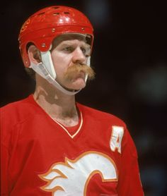 Manly Lanny McDonald, with a moustache he can also use as a coffee filter.