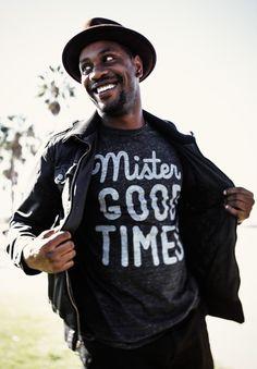 mister good times tee//