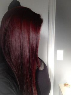 trendy hair dark red ombre burgundy - All For Hair Color Balayage Hair Color Auburn, Auburn Hair, Hair Color Dark, Ombre Hair Color, Hair Color Balayage, Cool Hair Color, Color Red, Burgundy Colour, Dark Red Balayage