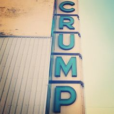 * crump// #columbus #indiana #type by funnel / eric kass, via Flickr
