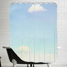 Lonely Skies Mexico Shower Curtain