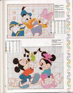 Donald & Daisy / Mickey & Minnie