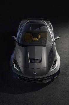 The new Chevrolet Stingray