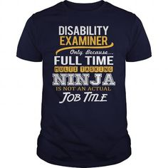 Awesome Tee For Disability Examiner T Shirts, Hoodies. Check price ==► https://www.sunfrog.com/LifeStyle/Awesome-Tee-For-Disability-Examiner-122504567-Navy-Blue-Guys.html?41382