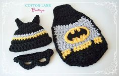 Hey, I found this really awesome Etsy listing at http://www.etsy.com/listing/123672572/batman-crochet-set-little-man-bat-baby