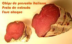 Chips de bresaola, presunto italiano #receitas #fit #receitaslight #dieta #fitness