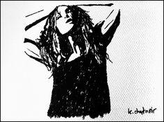 "Donde vomitan las musas: ""Esperant la (des)inspiració"" Tinta china sobre lá..."
