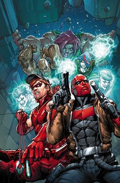Arsenal & Red Hood under attack