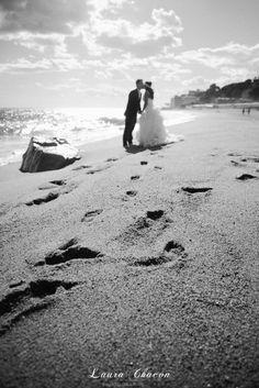 Laura Chacón Photography www.laurachacon.es  Fotografía de bodas-Wedding photographer trash the dress /postboda / boda / wedding / playa / beach / Barcelona