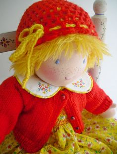 Waldorf Custom Doll18 Inch DressUp par HuggerMuggerDolls sur Etsy, €49.75