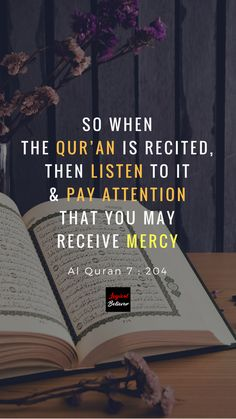 So when the Qur'an is recited, Then listen to it & pay attention that you may receive mercy. Al Quran 7 : 204 Want to Understand the Quran? Subscribe to our Youtube Channel. #islam #quran #qurantranslation #quranenglishtranslation #muslim #quranicduas #dua #LogicalBeliever #FahimJoharder #Allah #religion #creator #alhamdulillah #alquran #koran #alkoran #shia #sunni #quotes #islamicquotes #quranicquotes #wisdom