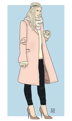 Modern Hobbit characters: Galadriel (by Kaye Magistro)