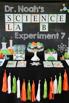 Science Birthday Party – Customer Feature