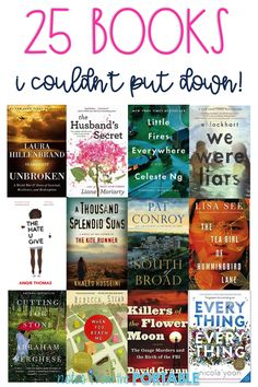 I love this list! So many great books to read. Definitely on my must read book list.