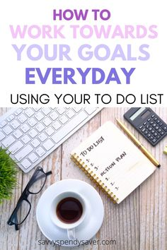 Are your goals gathering dust somewhere waiting for someday to get started? Or are you stuck and overwhelmed? To do list to the rescue! setting goals in life| setting goals in life tips| how to set goals in life| how to work on your goals| keep working on your goals| start working on your goals| work on your goals everyday| how to set goals and achieve them| how to set goals and achieve them tips| ways to achieve your goals| steps to achieve your goals| tips to achieve your goals Productive Things To Do, Habits Of Successful People, Get Your Life, Organize Your Life, Succesful People, Define Success, College Fun, Self Improvement Tips, Achieve Your Goals