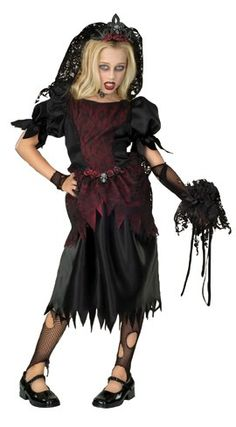 Zombie Prom Queen Dress, tiara with veil and glovelet. Stockings and Dead Flowers NOT Included