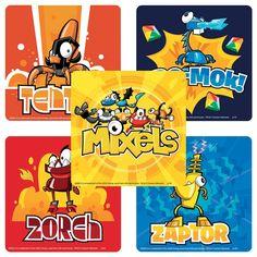 Amazon.com: Lego Mixels Stickers - 75 per Pack: Toys & Games