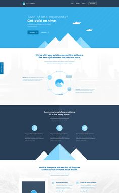 Clean and Clear Website Design