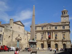 Republic Square in Arles - France   Sit quietly here,and wait for a chance to get somewhere else to buy beer!   Ha