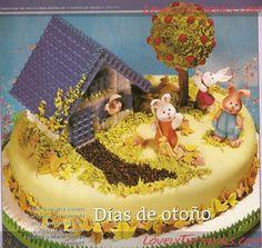 Заяц, зайчик,кролик, Rabbit, Jazz Rabbit, Hase, zajíc, lièvre, lepre - Страница 2 - Мастер-классы по украшению тортов Cake Decorating Tutorials (How To's) Tortas Paso a Paso