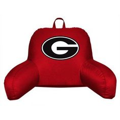 Sports Coverage NCAA Georgia Bed Rest Pillow
