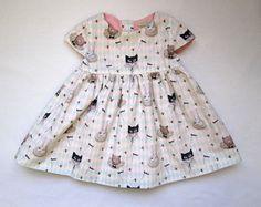 Circus Cat Baby Dress  Matilda Fall/Winter van Costumini op Etsy