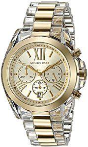 Michael Kors Women's Bradshaw Gold Watch MK6319