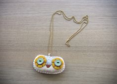 Owl Necklace by WE.LOVE.STITCHES, via Flickr