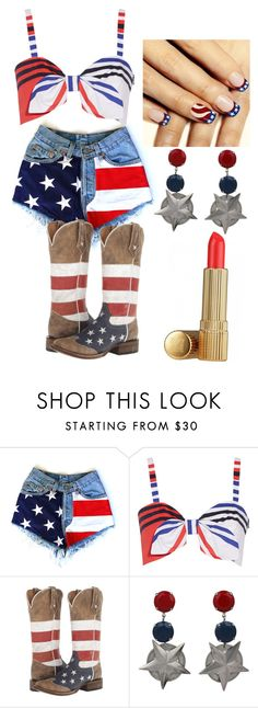 """""""Happy Fourth of July"""" by autumnnembhard-1 on Polyvore featuring Milly and Roper"""